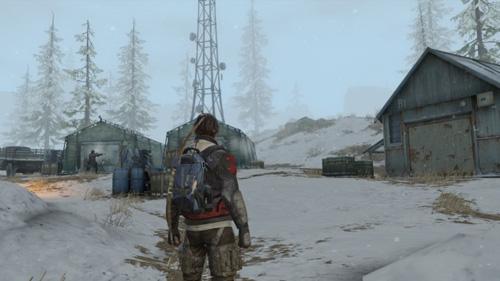 探索雪山营地