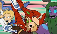 炉石传说新版本动画视频 走进古拉巴什竞技场第一集