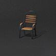 木制悠閑靠椅