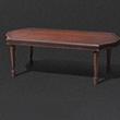 古典長木桌