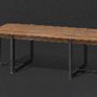時尚長木桌