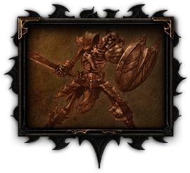 骷髅刀盾手