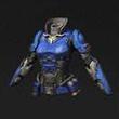 蓝色强袭铠