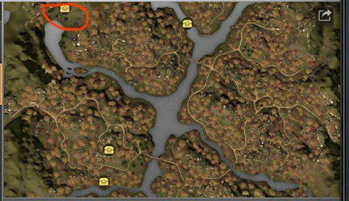 明日之后秋日森林河心洲在哪 探索河心洲位置