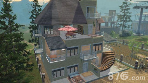 明日之后别墅蓝图 别墅设计图