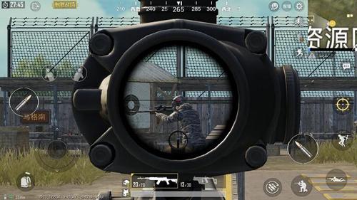 绝地求生刺激战场枪械要有合适的倍镜3