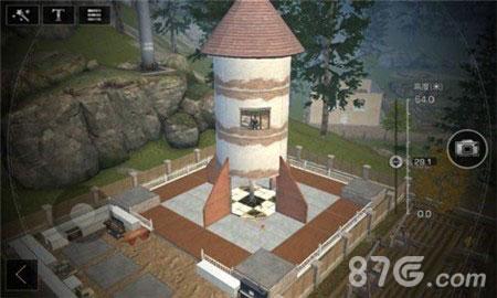 明日之后火箭筒房子建火箭筒建筑设计蓝小图片设置canvas绘制v房子的程序图片