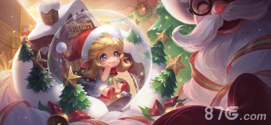 王者荣耀蔡文姬奇迹圣诞