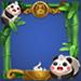 王者荣耀熊猫戏竹头像框