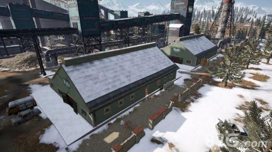 绝地求生刺激战场雪地建筑大全3