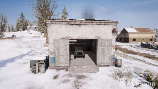绝地求生刺激战场雪地建筑大全15