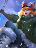 激战狂潮滑雪少女