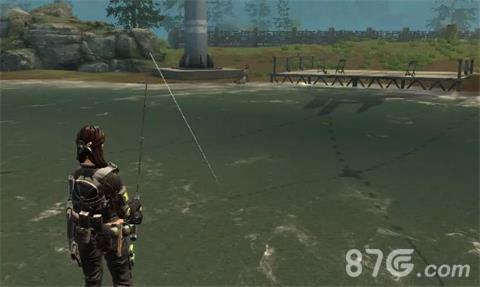 明日之后邀请别人来营地钓鱼