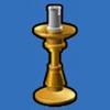 金质小烛台