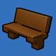乐高无限木质长椅