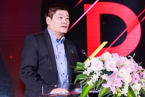 移动游戏企业家联盟(MGEA)秘书长上海汉威信恒展览有限公司董事长韩志海先生致辞
