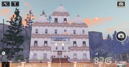 明日之后教堂房子设计图 末日婚礼教堂搭建蓝图