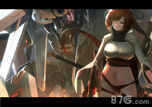 重装战姬九条绫专属机甲