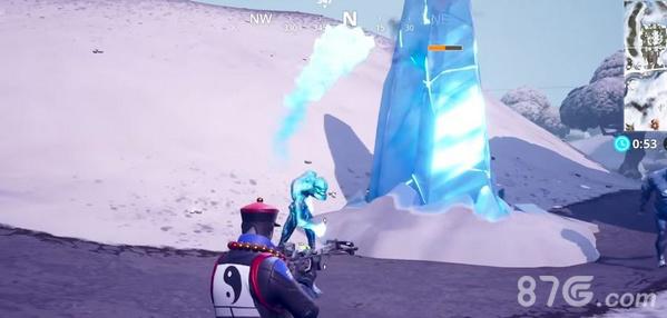 堡垒之夜冰风暴挑战冰邪魔攻略2