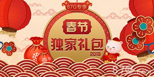 2019年春节礼包宣传图