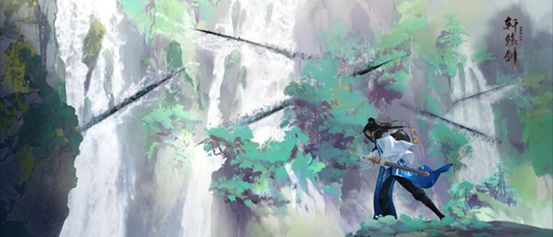 CG画面:剑气凌厉
