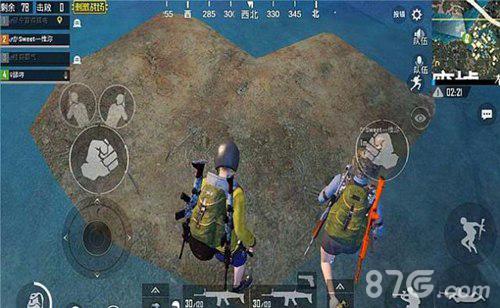 绝地求生刺激战场爱心岛在哪里 地图位置注释