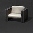 时尚木制沙发