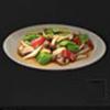 蘑菇炒辣椒