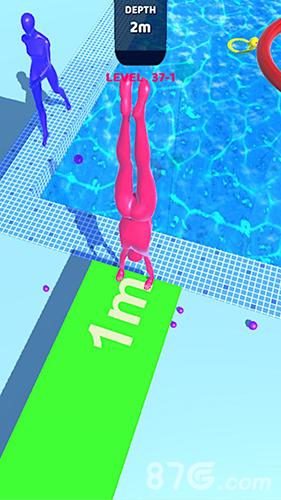 紫色潜水员截图1