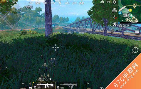 刺激战场雨林地图安全捡空投方法2
