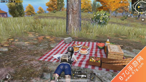 绝地求生刺激战场野餐怎么吃