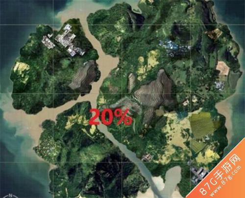 刺激战场哪个地图玩得人多3
