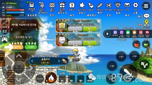 冒險島M國際版玩法攻略