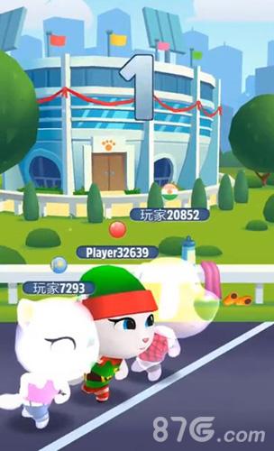 汤姆猫跑酷比赛模式