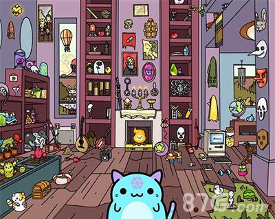 小偷猫房间