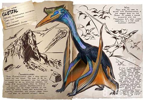 方舟生存進化風神翼龍
