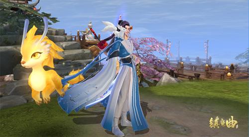 《镇魔曲》金色飞龙高调助战 全新传说龙灵现世