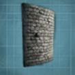 弯曲石头城墙