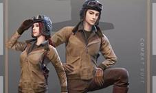 绝地求求生刺激战场新增猛禽套装 飞行员服装