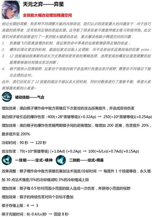 王者荣耀先行服4月11日版本更新15