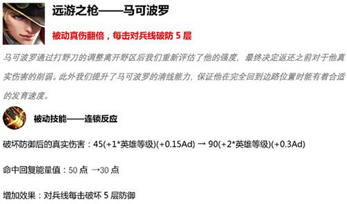 王者荣耀先行服4月11日版本更新16