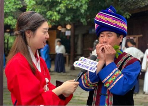 非物质文化遗产木叶吹奏的传承者―――张宗应老师
