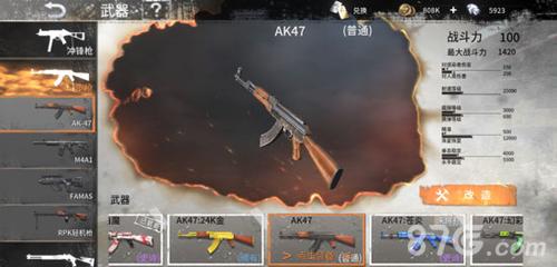 黎明之路AK47图片
