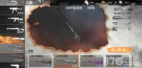 黎明之路AWP狙击枪图片