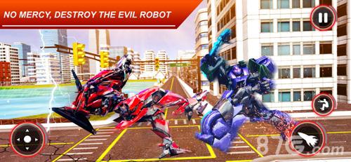 機器人變態戰爭截圖2
