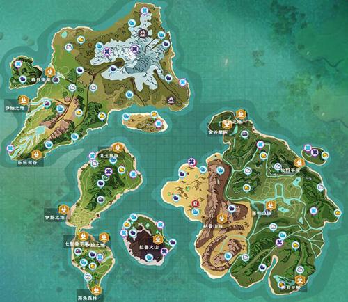 创造与魔法地图