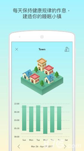 睡眠小鎮app截圖3