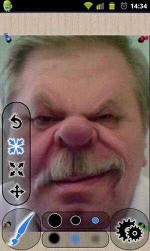 搞怪照片app截图2