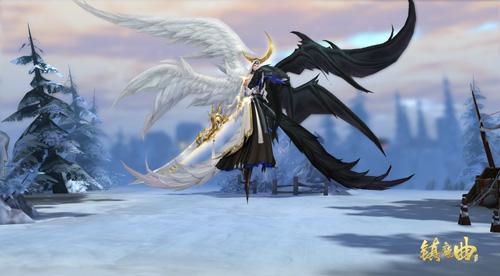 黑白双翼并蒂双生,并蒂莲化形全新来袭
