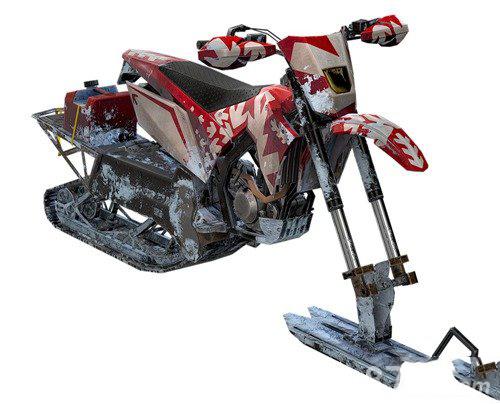 和平精英轻型雪地摩托